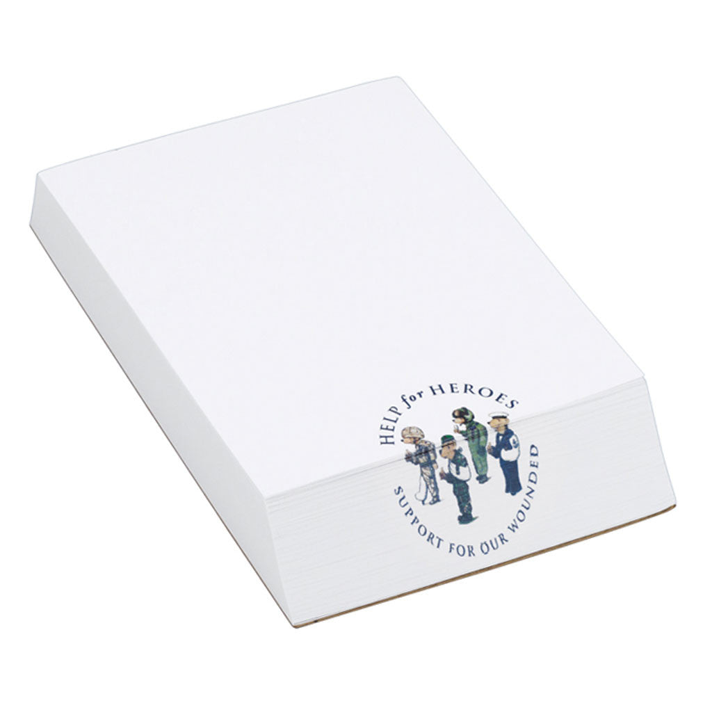 Help for Heroes Slant Notepad