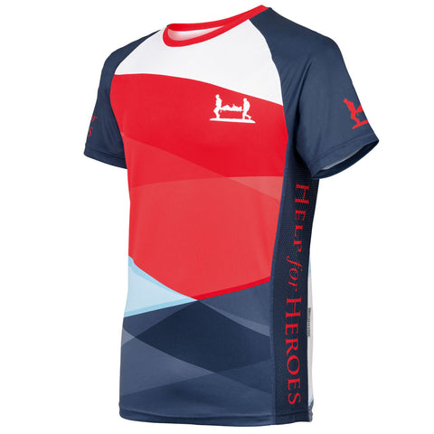 Help for Heroes Tri-Colour Technical T-Shirt