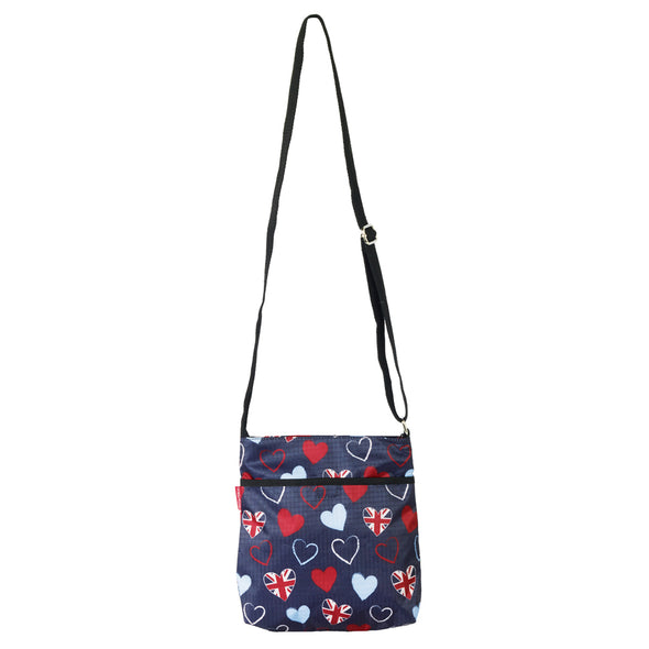Help for Heroes Tri-Heart Cross Body Bag
