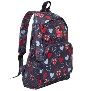 Help for Heroes Foldaway Tri-Heart Backpack