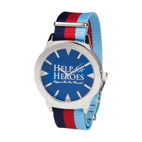 Help for Heroes Classic Canvas Strap Watch