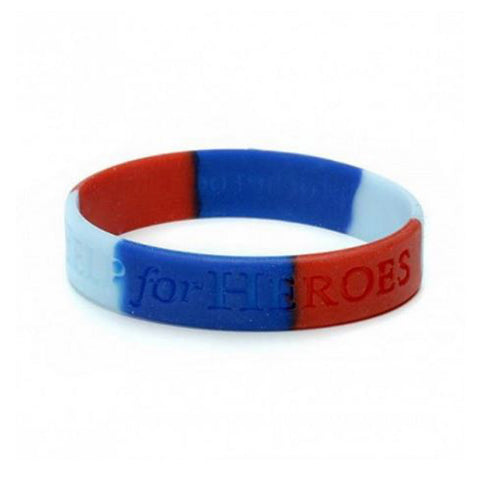 Help for Heroes Small Silicone Wristband