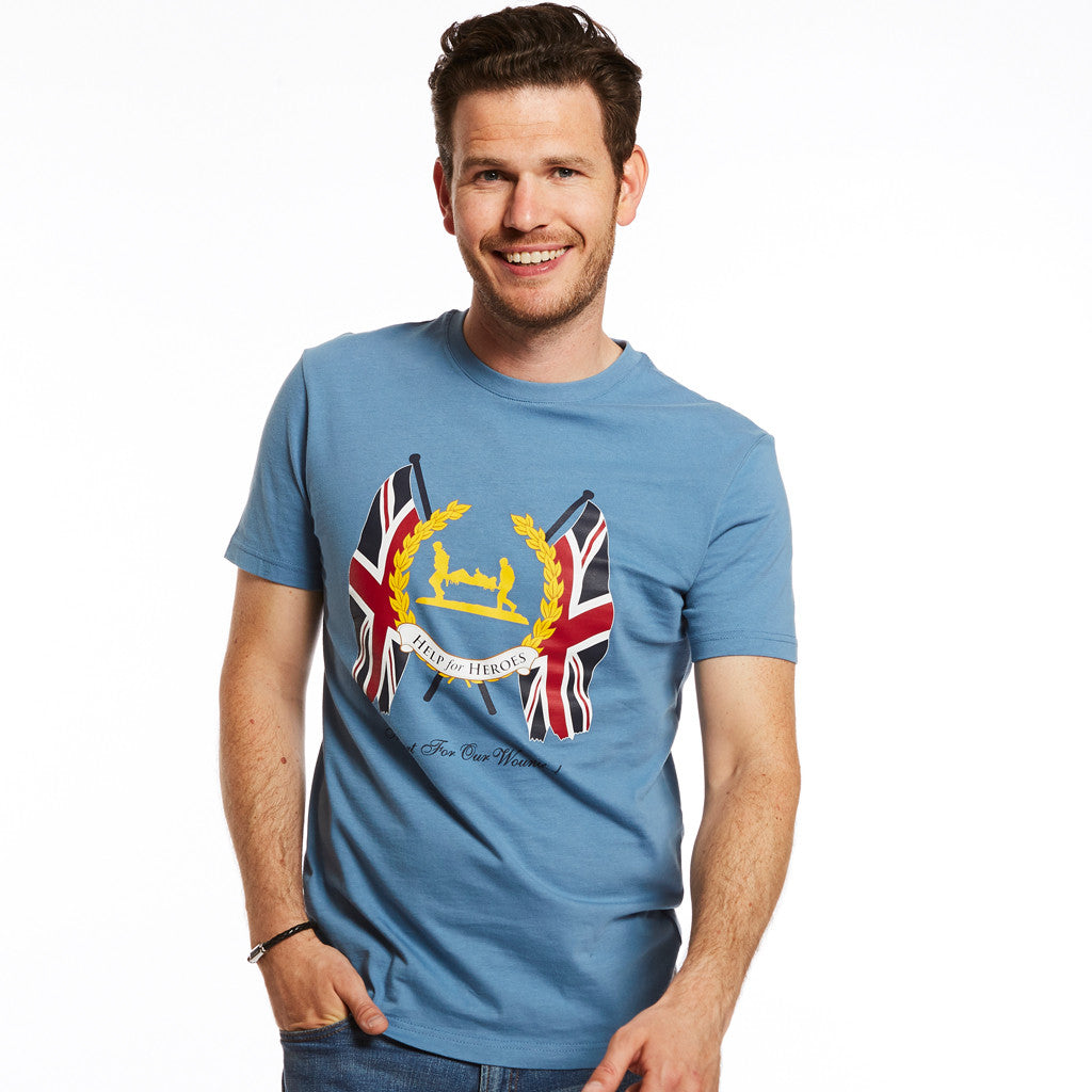Help for Heroes Denim Blue Westminster T-shirt
