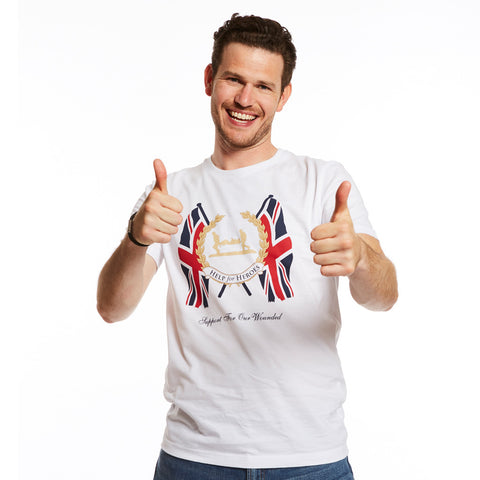 Help for Heroes White Westminster T-Shirt
