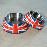 Help for Heroes Union Jack Dog Bowl - Large