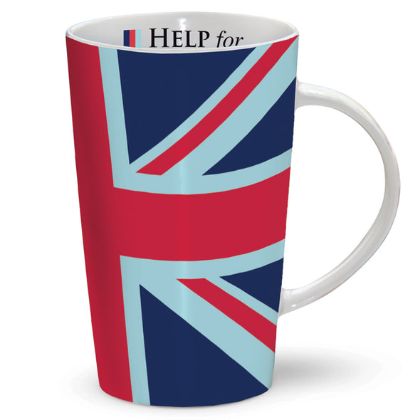 Help for Heroes Union Jack Latte Mug