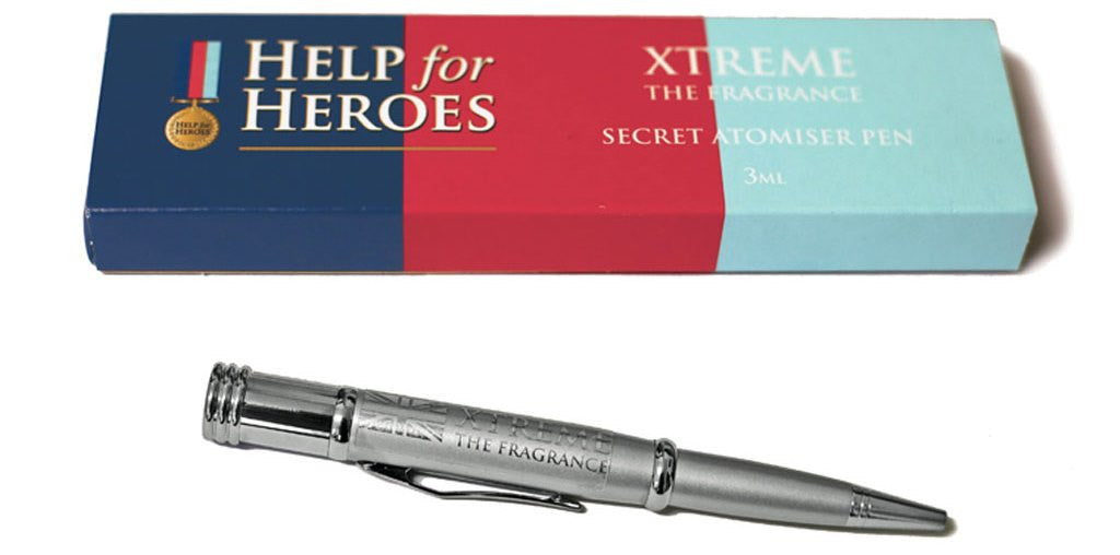 Help for Heroes Xtreme Fragrance Atomiser Pen