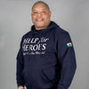 Navy Welsh Hoody