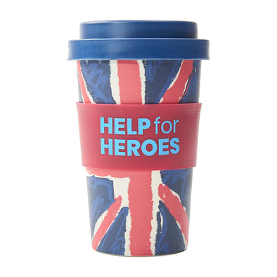 Help for Heroes Union Jack Reusable Coffee Cup
