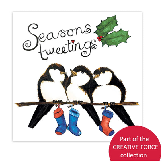 Help for Heroes Seasons Tweetings Christmas Card