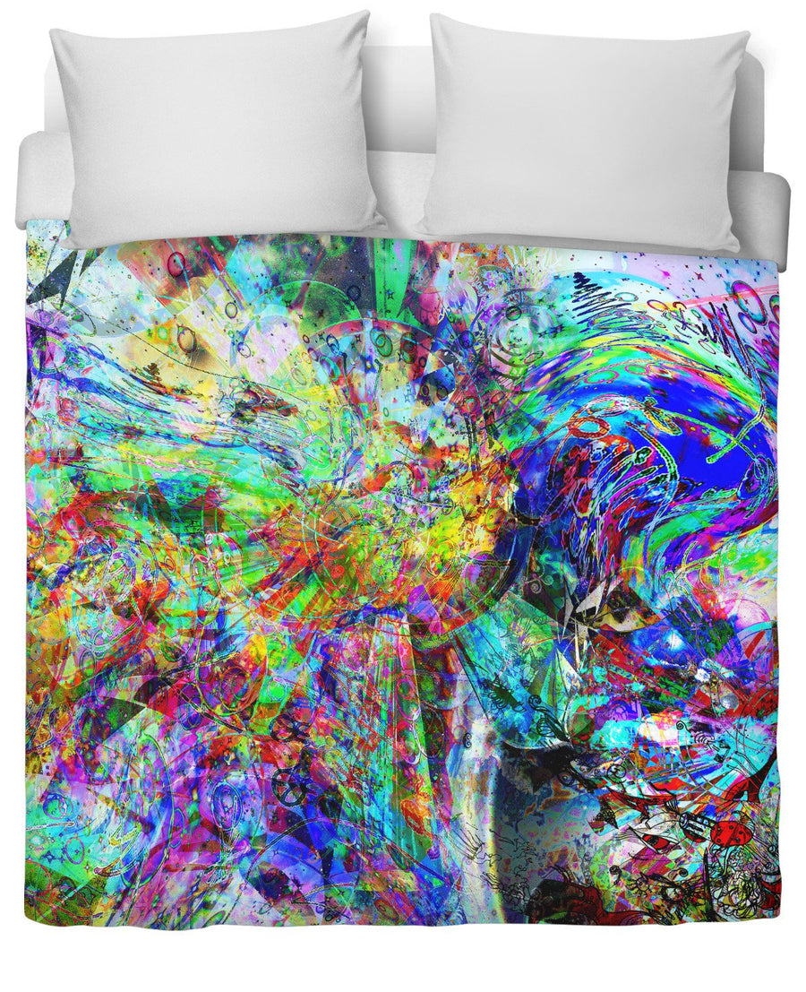 Barfing Beautifully Duvet Cover-Duvet Covers-FaceGlue-Twin-Très Fancy