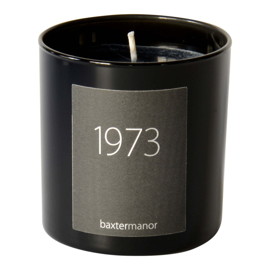1973 #OurHistoryCollection Candle by Baxter Manor-Home - Candles-Baxter Manor-Black-Très Fancy
