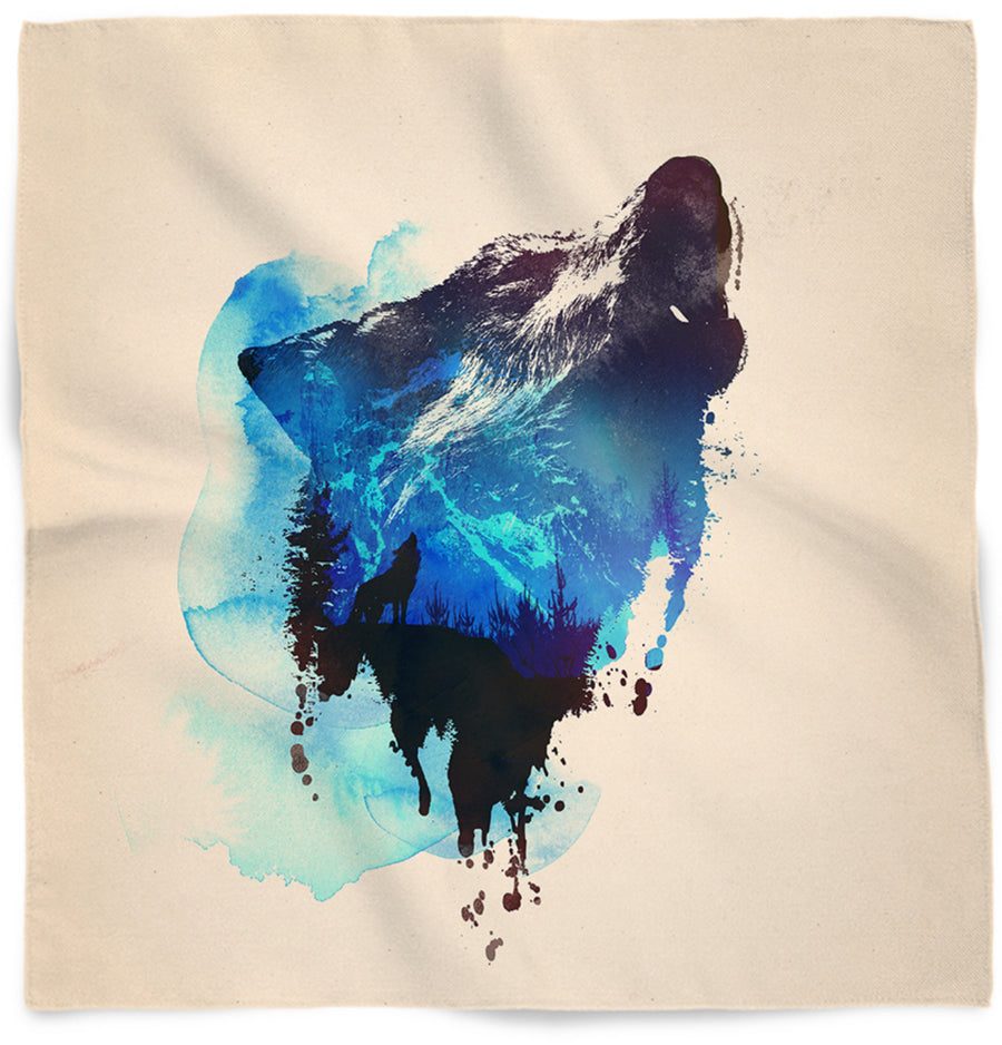 Alone as a wolf-Bandanas-Astronaut-One Size-Très Fancy