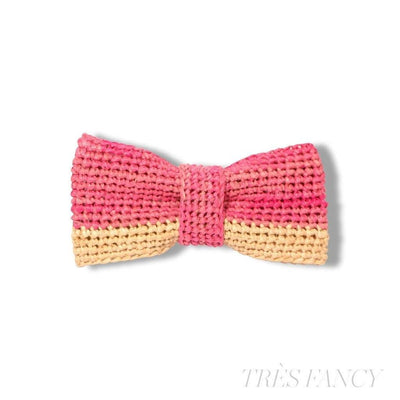 2/3 - Pink / Natural-Men - Accessories - Bow Ties-Victor Marie-Très Fancy
