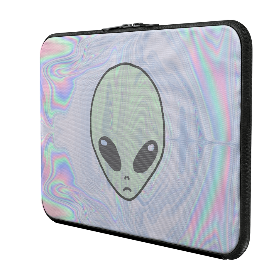 Alien Pastel Laptop Sleeve-Women - Bags - Backpacks-Hipster's Wonderland-13 Macbook Pro-Très Fancy