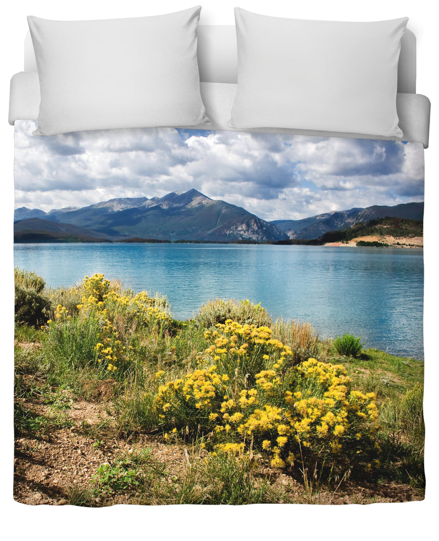 Lake Dillon Duvet Cover-Duvet Covers-FaceGlue-Twin-Très Fancy