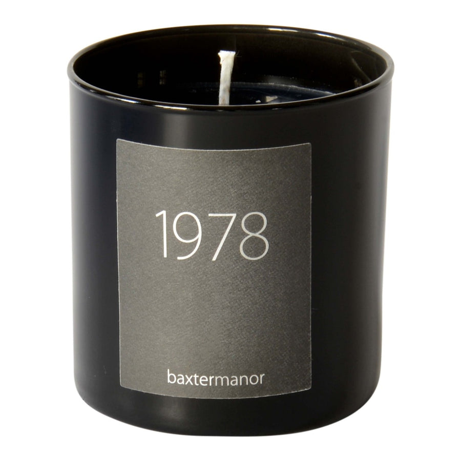 1978 #OurHistoryCollection Candle by Baxter Manor-Home - Candles-Baxter Manor-Black-Très Fancy