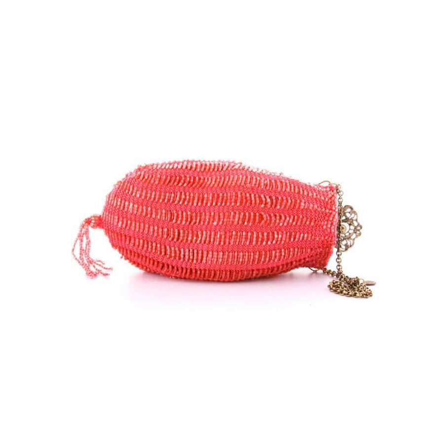Venetian Evening bag in color Corail