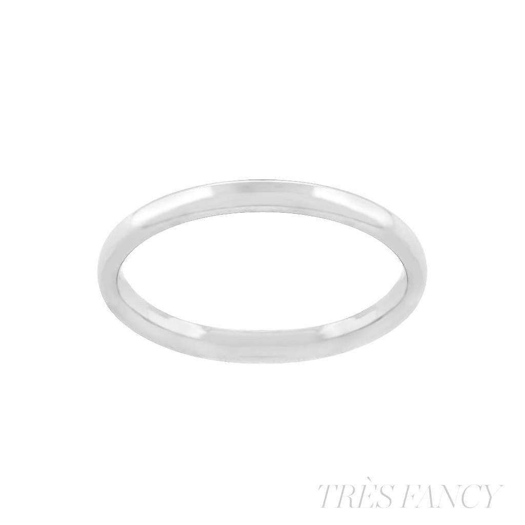2mm Stainless Steel Band-Women - Jewelry - Rings-Le Chic, LLC-Très Fancy