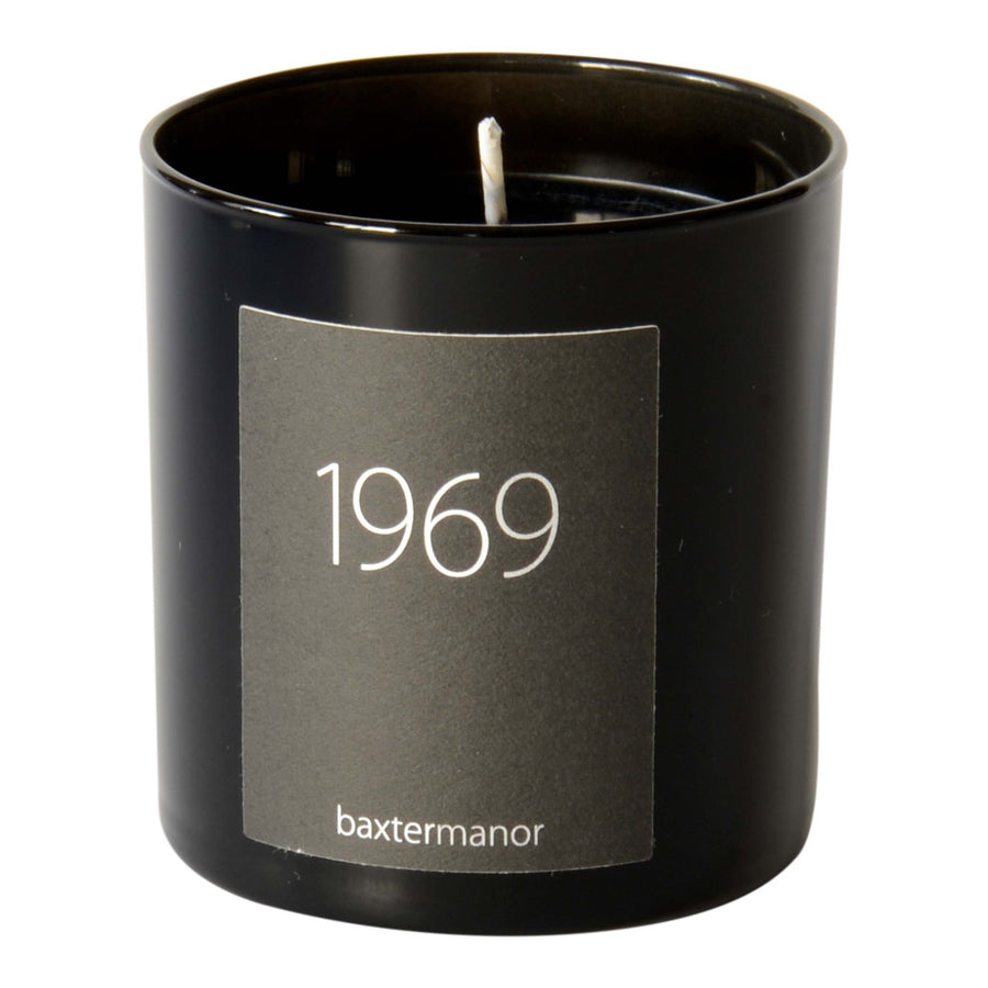 1969 #OurHistoryCollection Candle by Baxter Manor-Home - Candles-Baxter Manor-Black-Très Fancy