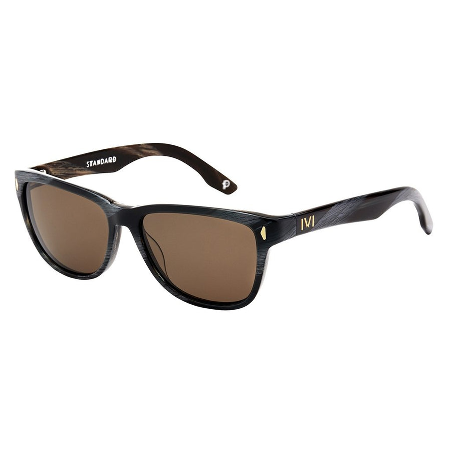 Standard: Polished Double Horn / Bronze Polarized Lens