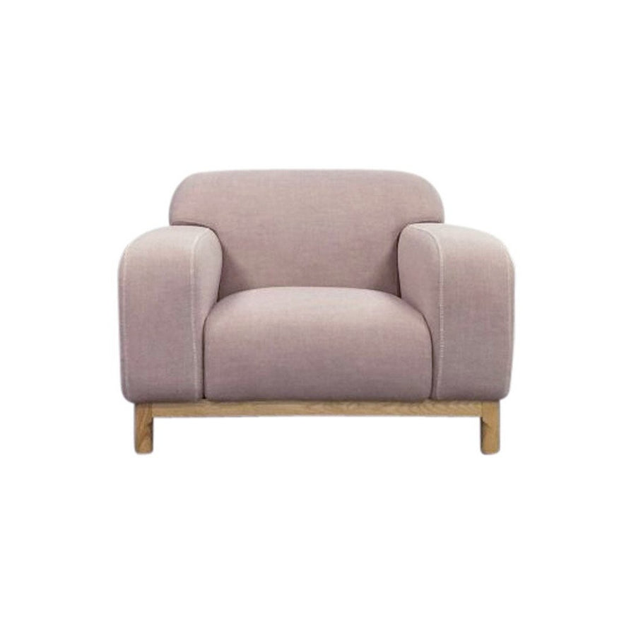 Elsa 1-Seater Lounge Chair - Light Pink | Modern, Mid-Century & Scandinavian | GFURN-Home - Furniture-GFURN Design Furniture-Très Fancy