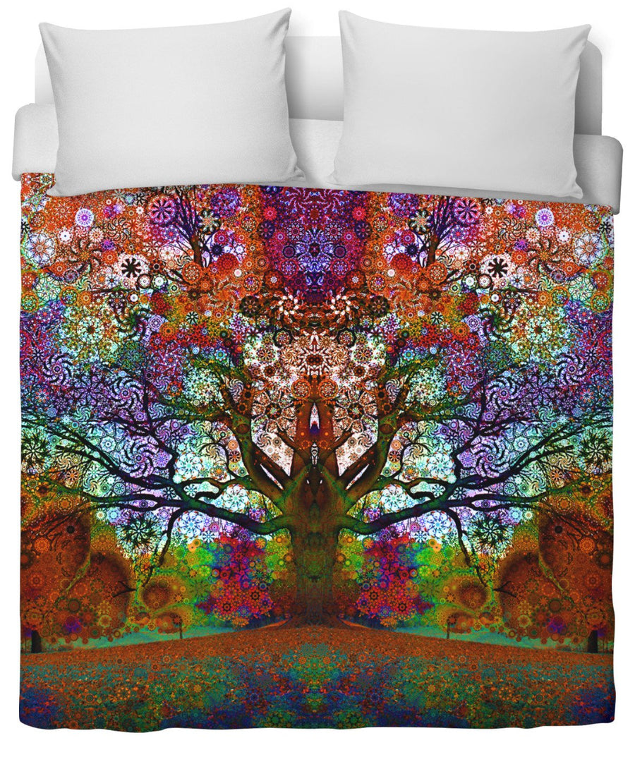 Trip Tree Duvet Cover-Duvet Covers-LarryCarlson-Twin-Très Fancy