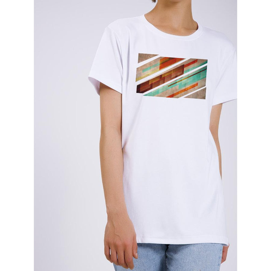 Vintage Style Abstract T-shirt-whatsmode-Black-XS-Très Fancy