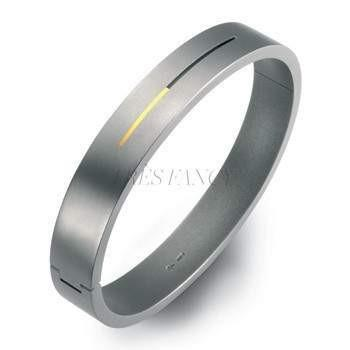 60167-01 TeNo Titanium Bangle-Bracelet-TeNo Titanium-58mm-Titanium-Très Fancy