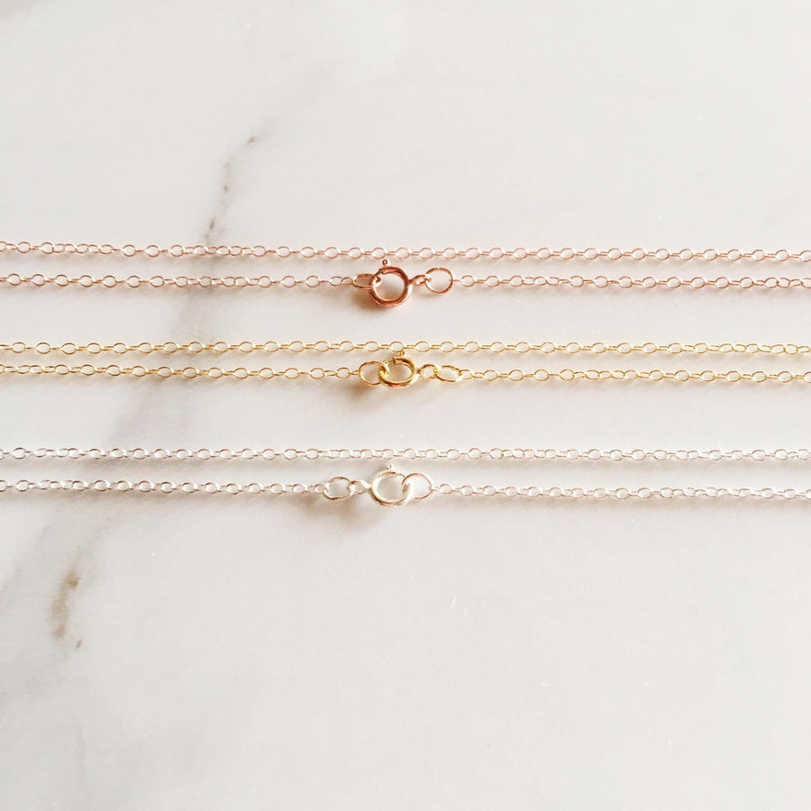 "14k Gold/Rose Gold/White Gold Diamond Kitty Necklace-Women - Jewelry - Necklaces-A Peace of Mind Jewelry & Boutique-16"" Gold (5)-Très Fancy"