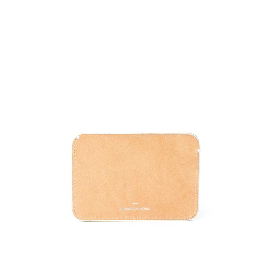 R WALLET 201 LEATHER NATURAL-Men - Accessories - Wallets & Small Goods-RAWROW-Très Fancy