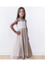 Sweetheart champagne flower girl dress 5005