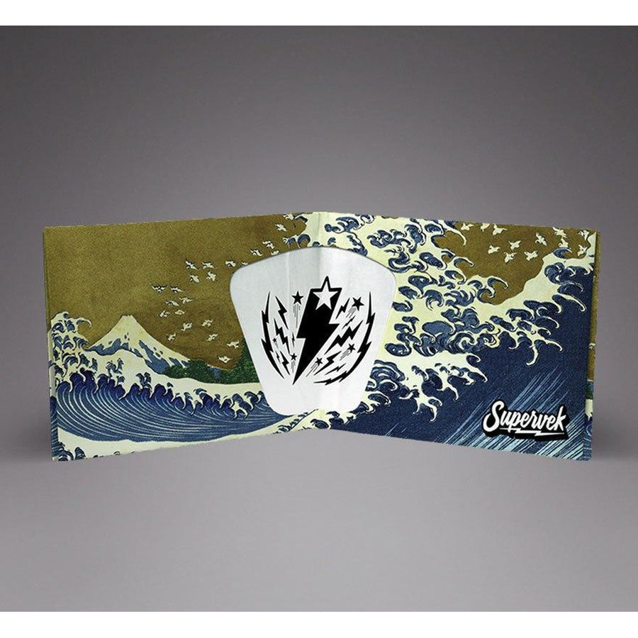 The Great Wave Superwallet-Men - Accessories - Wallets & Small Goods-Supervek-Très Fancy