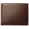 10 CC Grained Calf Leather Billfold Brown-Men - Accessories - Wallets & Small Goods-72 Smalldive-Très Fancy