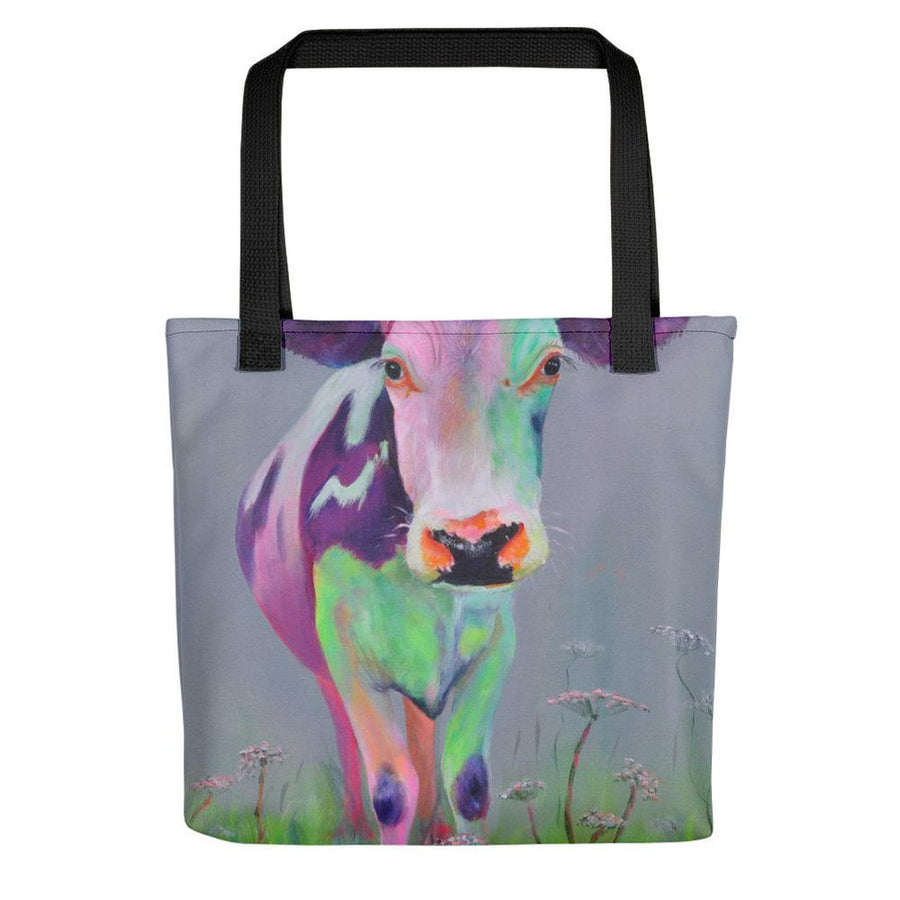 Anjelica Tote bag-Women - Bags - Totes-The Green Eyed Cow-Black-Très Fancy
