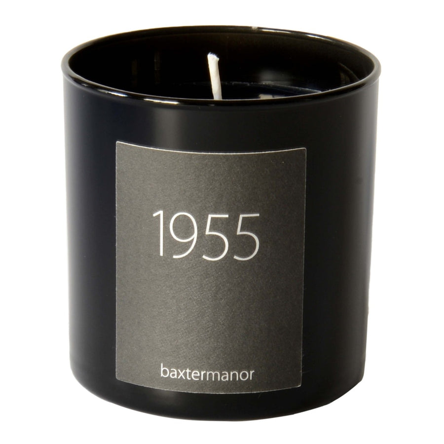 1955 #OurHistoryCollection Candle by Baxter Manor-Home - Candles-Baxter Manor-Black-Très Fancy
