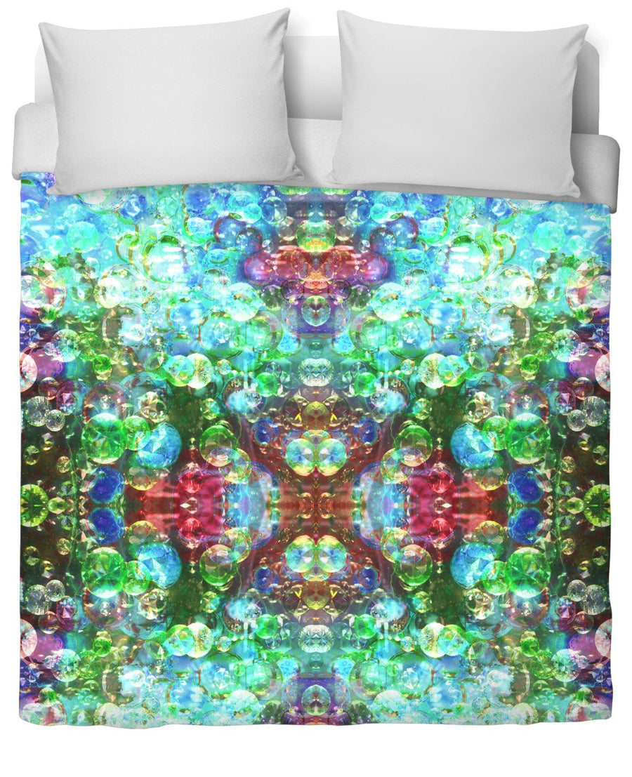 Bubblescope Vision Duvet Cover-Duvet Covers-FaceGlue-Twin-Très Fancy