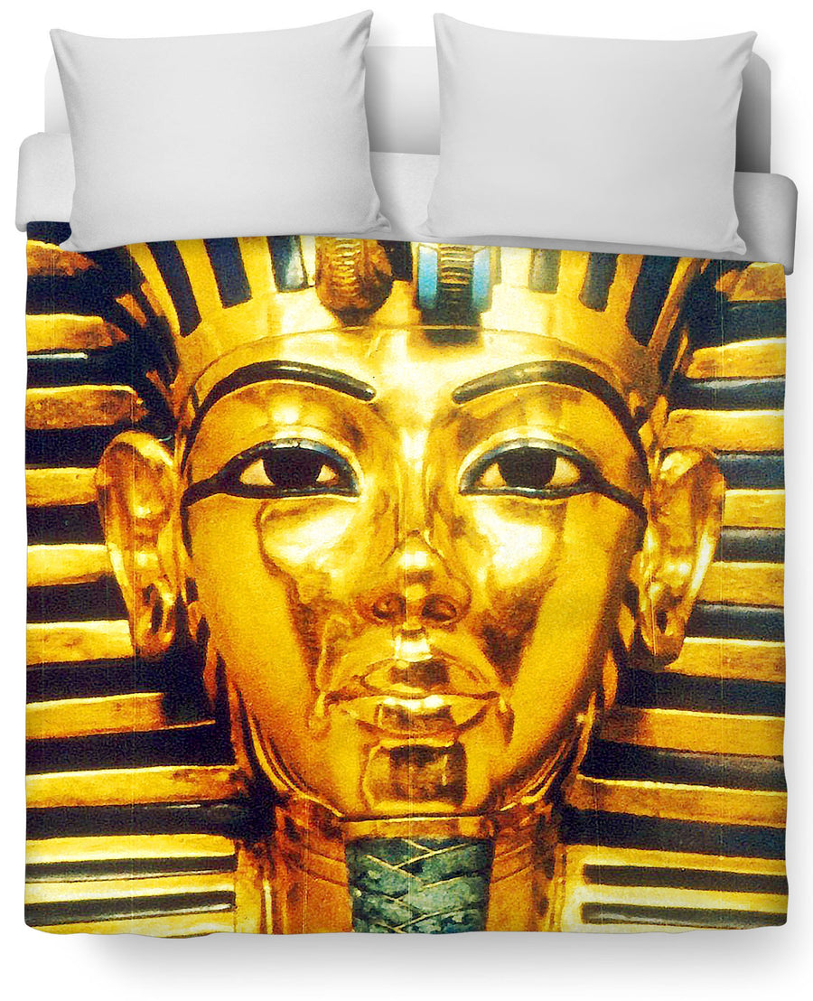 Pharaoh Duvet Cover-Duvet Covers-Classics-Twin Size-Multi-Très Fancy