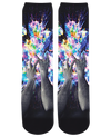 Artistic Bomb Crew Socks-Crew Socks-LetsRage-One Size-Multi-Très Fancy
