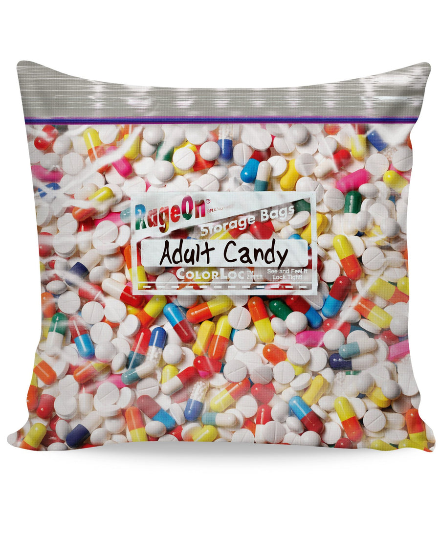 Adult Candy Couch Pillow-Pillows-LetsRage-One Sided-Multi-Très Fancy