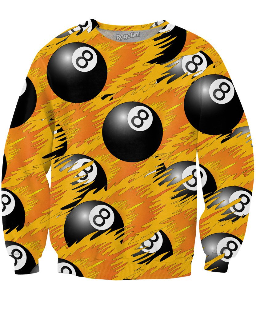 8 Ball Crewneck Sweatshirt