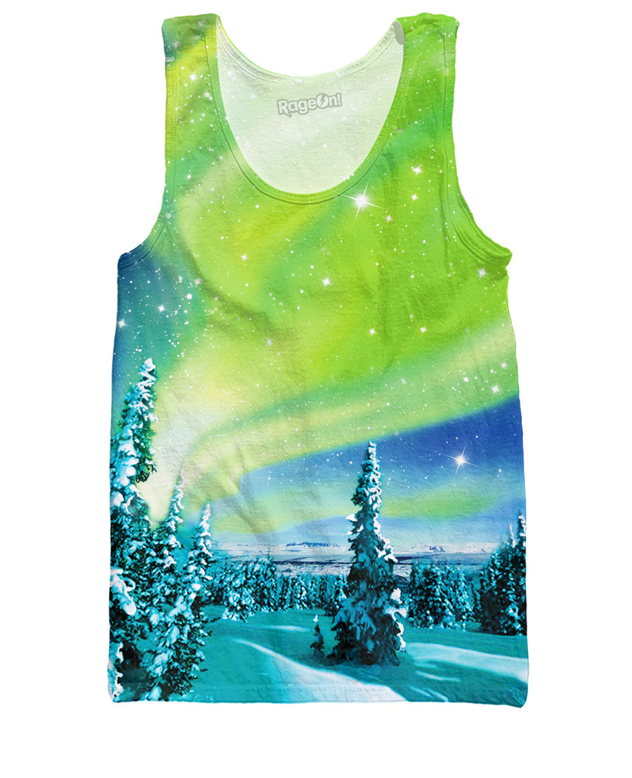 Arctic Nights Tank Top-Tank Tops-Classics-Small-Multi-Très Fancy