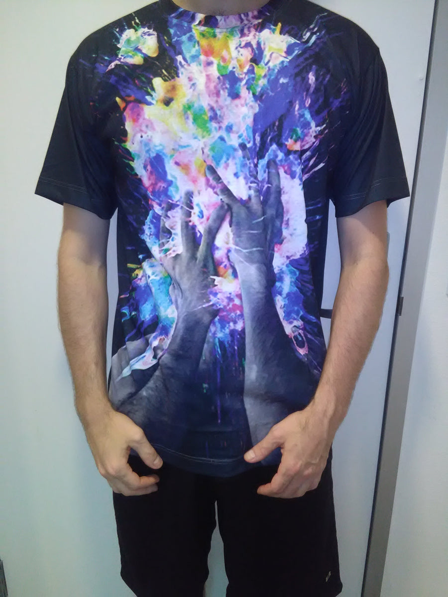 Artistic Bomb T-Shirt-T-Shirts-LetsRage-X-Small-Standard-Multi-Très Fancy