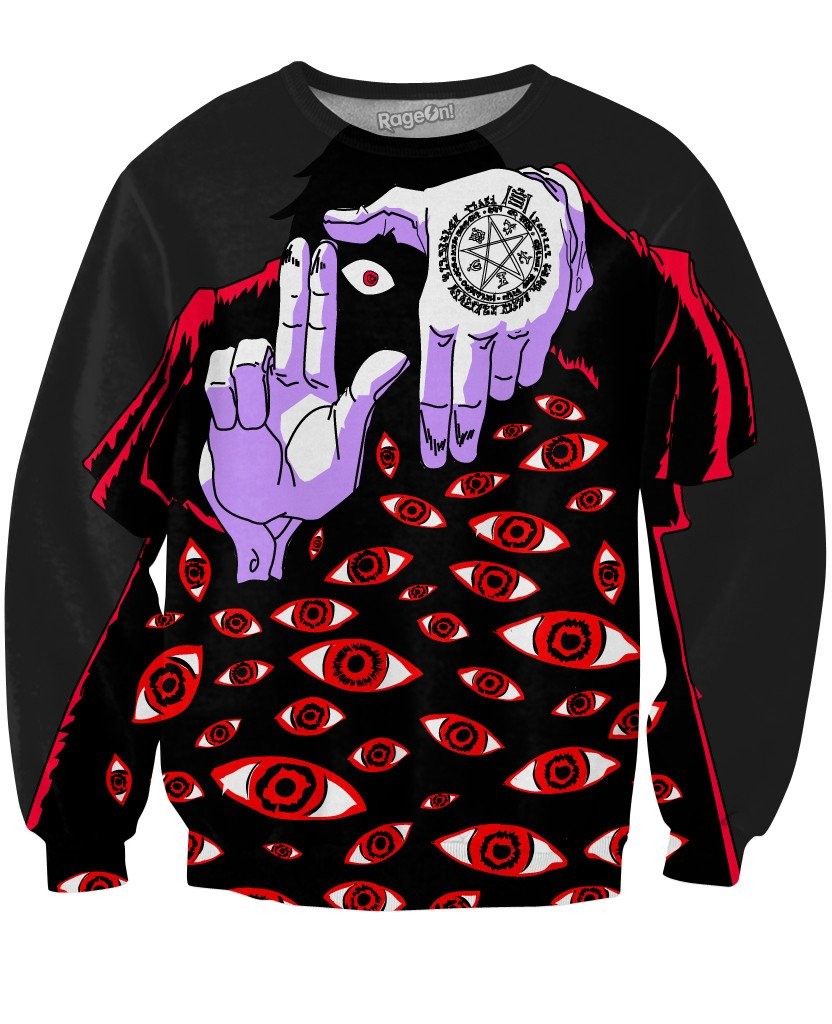 Alucard Sweatshirt-Sweatshirts-Technodrome1-X-Small-Multi-Très Fancy