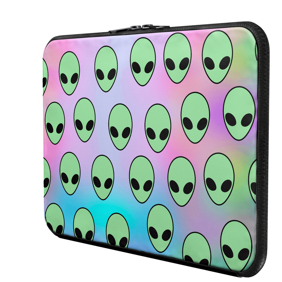 Aliens Laptop Sleeve-Women - Bags - Backpacks-Hipster's Wonderland-13 Macbook Pro-Très Fancy