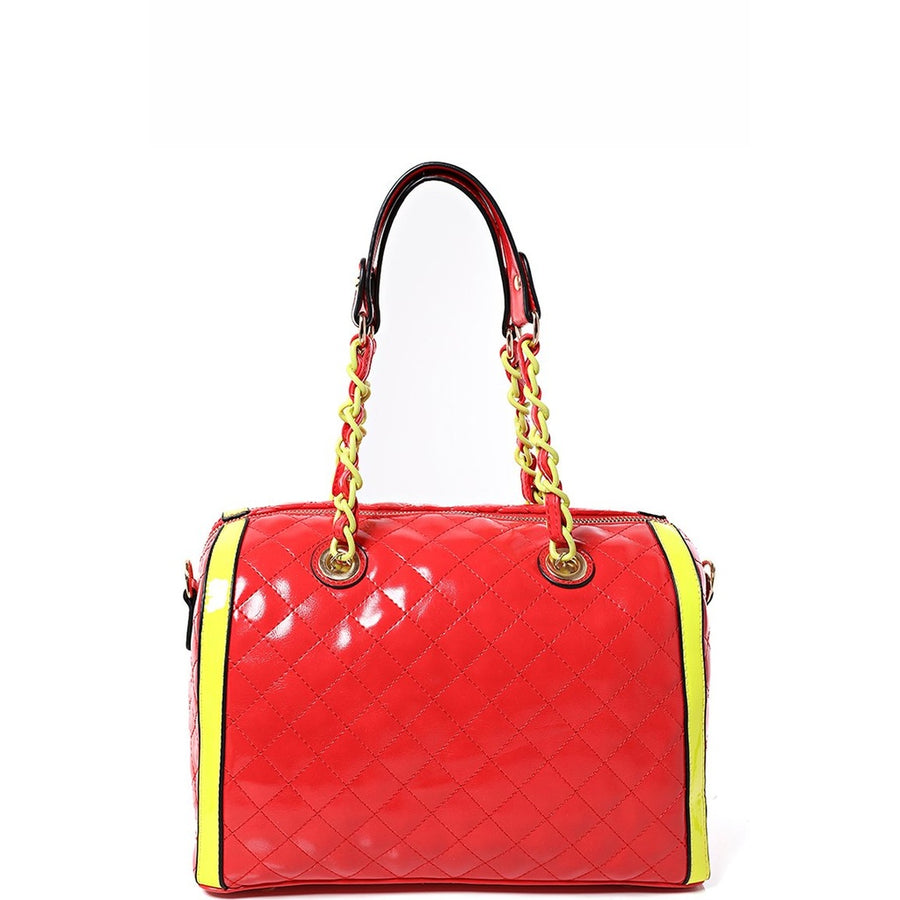Quilted Bag in Color Block