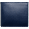 8 CC Small Buffed Calf Leather Billfold Wallet Blue-Men - Accessories - Wallets & Small Goods-72 Smalldive-Très Fancy