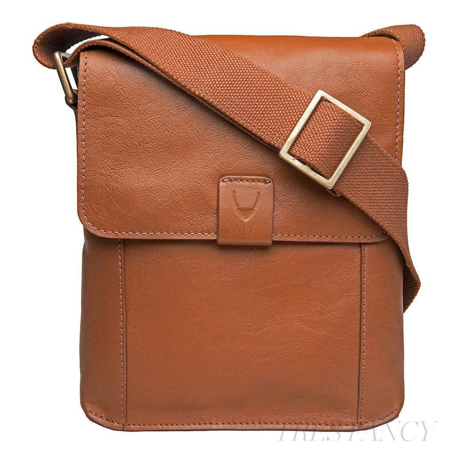 Aiden Small Leather Messenger Cross Body Bag-Men - Bags - Crossbody-Hidesign-TRESFANCY