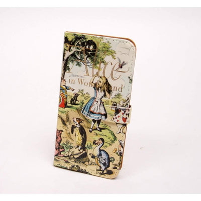 Alice Book phone flip case wallet for iPhone and Samsung-Women - Accessories - Tech Accessories-Chick Lit Designs-samsung s5-Très Fancy