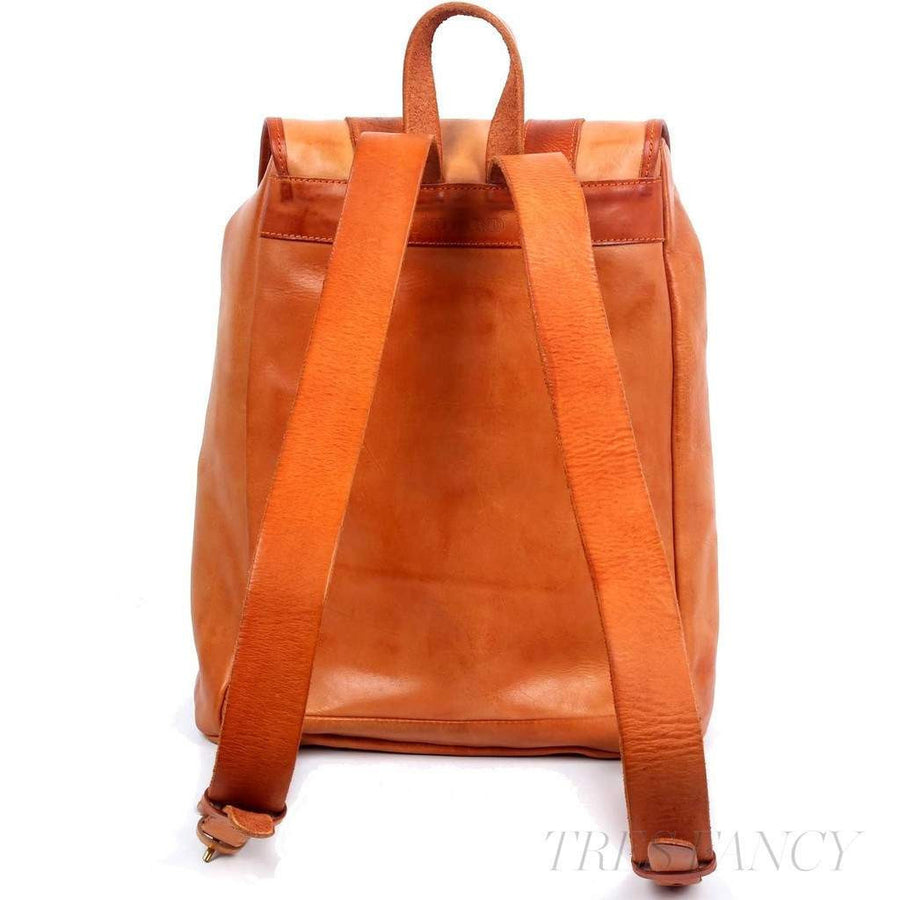 Amy Backpack, Camel-Women - Bags - Backpacks-More Lane Inc-Très Fancy